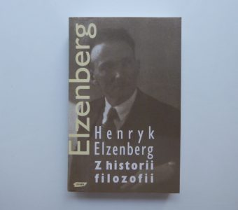 ELZENBERG HENRYK - Z historii filozofii