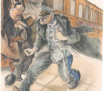 CZERMAŃSKI ZDZISŁAW - Marszałek Piłsudski [karykatura]
