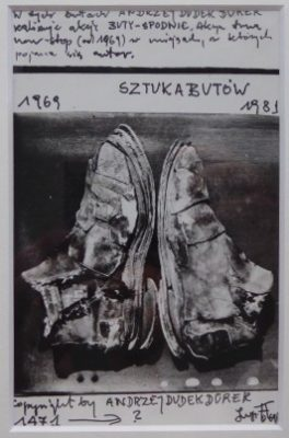 DUDEK-DURER ANDRZEJ Sztuka butów [mail art]