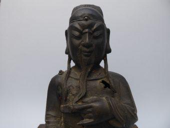 Guandi [Bóg wojny, brąz]