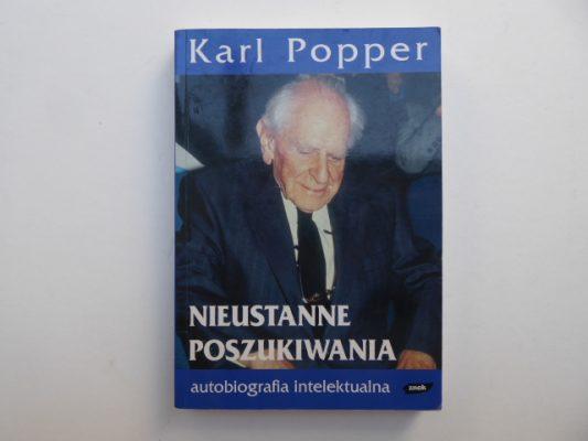 POPPER KARL Nieustanne poszukiwania. Autobiografia intelektualna