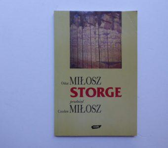 MIŁOSZ OSKAR - Storge [autograf Czesława Miłosza]