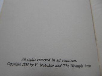 NABOKOV VLADIMIR - Lolita, t. 1-2 [wydanie pierwsze]