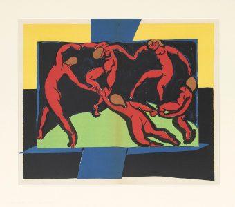 MATISSE HENRI - Taniec [litografia]