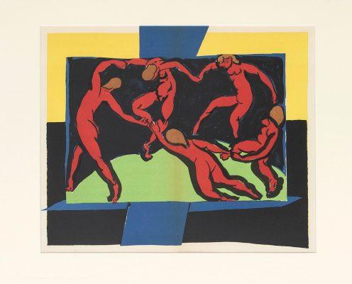 MATISSE HENRI Taniec [litografia]
