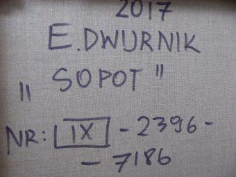 DWURNIK EDWARD - Sopot [akryl na płótnie]