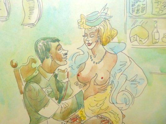 BEREZOWSKA MAJA Miłostki słodkiego Adolfa [rysunek]