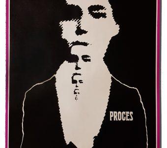 CIEŚLEWICZ ROMAN - Proces [plakat]