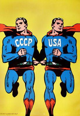 CIEŚLEWICZ ROMAN Superman [plakat]
