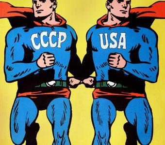 CIEŚLEWICZ ROMAN - Superman [plakat]