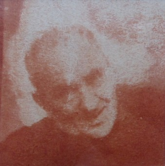 DEDERKO WITOLD Portret mężczyzny [guma warszawska]