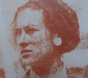 DEDERKO WITOLD - Portret kobiety [guma warszawska]