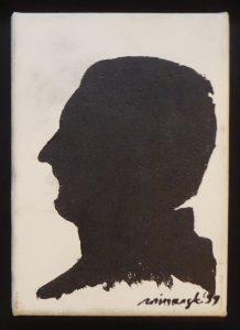 WINIARSKI RYSZARD - Autoportret [akryl na płótnie]