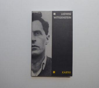 WITTGENSTEIN LUDWIG - Kartki