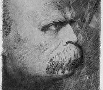 SIEDLECKI FRANCISZEK - Fryderyk Nietzsche [akwaforta]