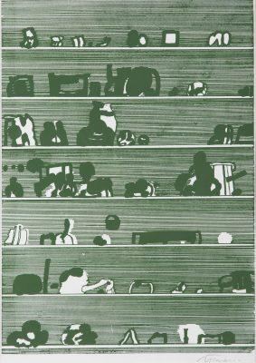 TARASIN JAN Przedmioty [serigrafia, sygnowana]