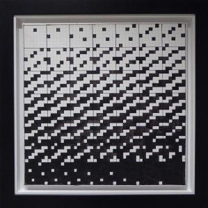 WINIARSKI RYSZARD - 11-th game 7 x 7 [akryl na płótnie]