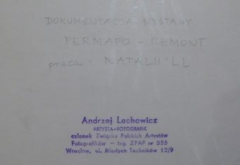 LACHOWICZ ANDRZEJ - Natalia LL [vintage print]
