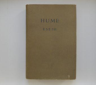 HUME DAWID - Eseje z dziedziny moralności i literatury