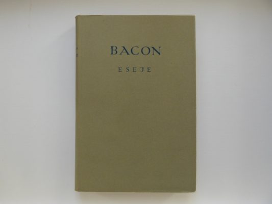 BACON FRANCISZEK Eseje
