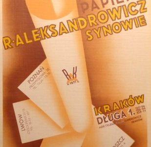 MATYSIAK R. - Aleksandrowicz Fabryczny Skład Papieru [reklama]