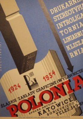 WOŹNIAKOWSKI Polonia Śląskie Zakłady Graficzne [reklama]