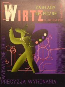 GRONOWSKI TADEUSZ - Wirtz Zakłady graficzne Warszawa [reklama]