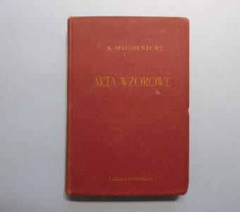 MOGILNICKI ALEKSANDER - Akta wzorowe w sprawie karnej
