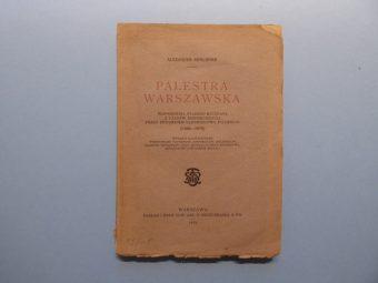 KRAUSHAR ALEXANDER - Palestra Warszawska