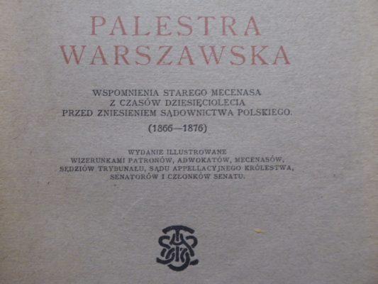 KRAUSHAR ALEXANDER Palestra Warszawska