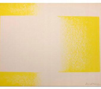 ANUSZKIEWICZ RICHARD - Kompozycja [litografia]