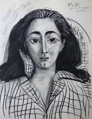PICASSO PABLO Jacqueline [litografia]