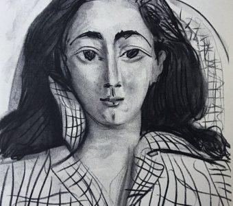 PICASSO PABLO - Jacqueline [litografia]