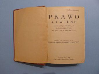 Prawo cywilne obowiązujące na obszarze b. Kongresowego Królestwa Polskiego
