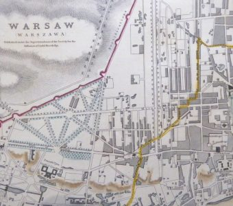 Plan Warszawy