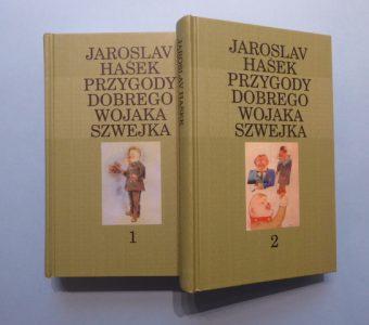 HASEK JAROSLAV - Przygody dobrego wojaka Szwejka, t. 1-2 [Kanon na koniec wieku]