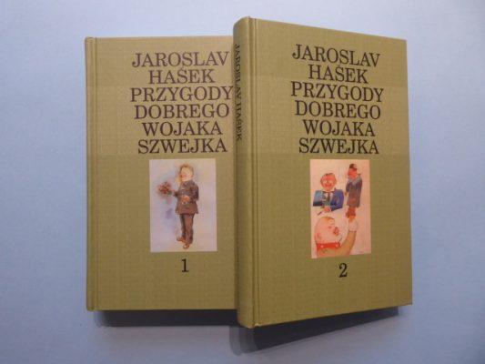 HASEK JAROSLAV Przygody dobrego wojaka Szwejka, t. 1-2 [Kanon na koniec wieku]