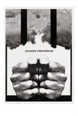 CIEŚLEWICZ ROMAN Amnesty International [plakat sygnowany]