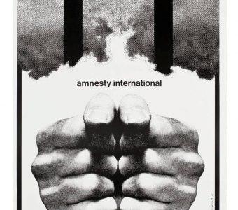CIEŚLEWICZ ROMAN - Amnesty International [plakat sygnowany]