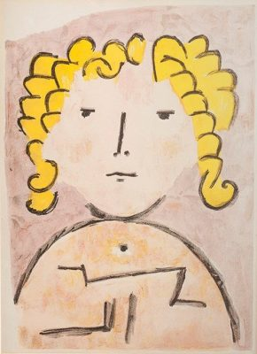 KLEE PAUL Portret dziecka [litografia]