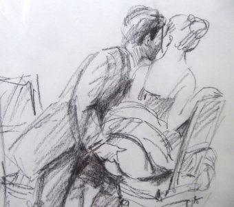 OLBIŃSKI RAFAŁ - Ballada o wędrującym paluszku [rysunek]