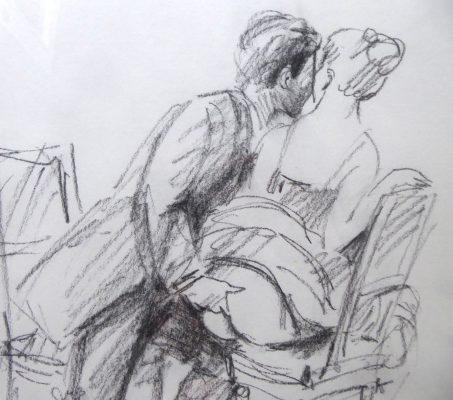OLBIŃSKI RAFAŁ Ballada o wędrującym paluszku [rysunek]