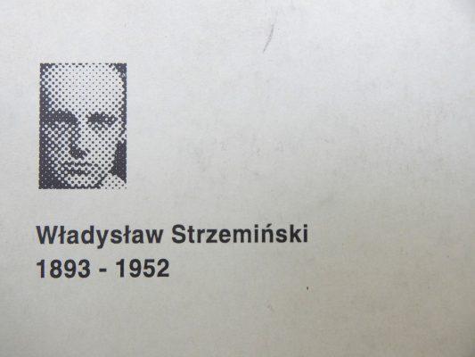 praca zbiorowa Władysław Strzemiński 1893-1952. Materiały z Sesji