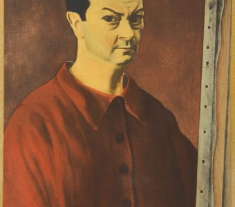 KISLING MOJŻESZ - Autoportret [litografia]