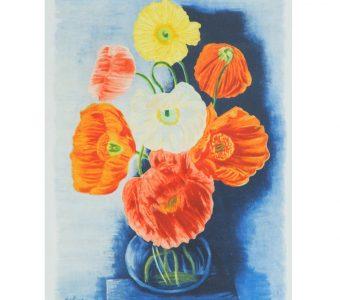 KISLING MOJŻESZ - Kwiaty [litografia]