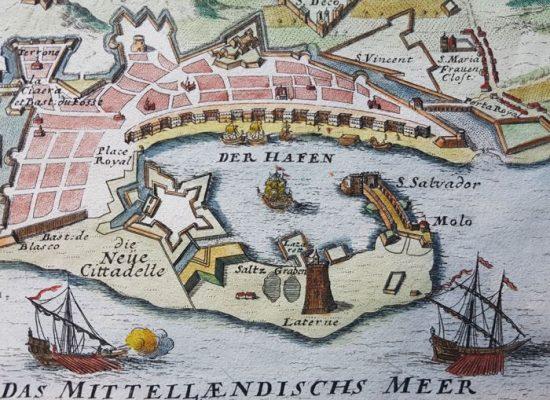 BODENEHR GARBRIEL Mesyna na Sycylii [widok miasta]