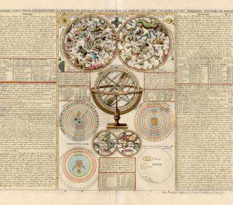 CHATELAIN HENRI A. - Mapa nieba