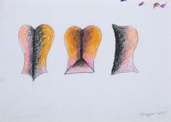 FANGOR WOJCIECH Projekt rzeźby Symetria 2 [rysunek]