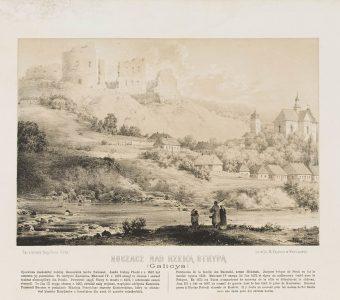 ORDA NAPOLEON - Buczacz nad rzeką Strypą [litografia]