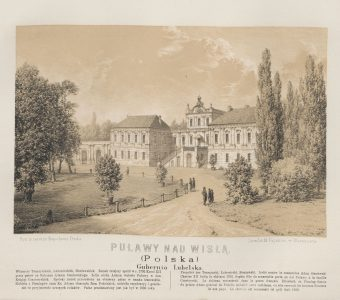 ORDA NAPOLEON - Puławy nad Wisłą [litografia]